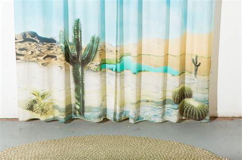 photo print curtains desert curtains horace finials katie stout