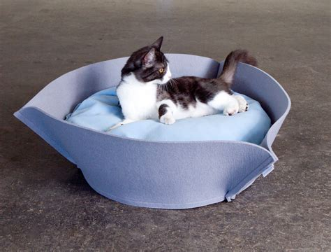 cats beds luxury nook felt cat bed chelsea cats