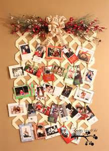 confessions of a plate addict cowgirl up christmas in july a lattice christmas card display