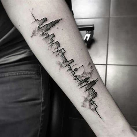 chicago skyline tattoos skyline designs ideas and meaning tattoos for you