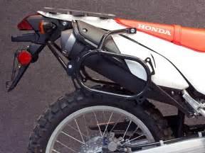 wolfman shows honda crf250l touring bag racks