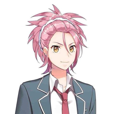 pink haired anime boys anime amino