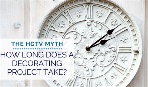 how long does design by humans take to ship how long does a decorating project take the hgtv myth