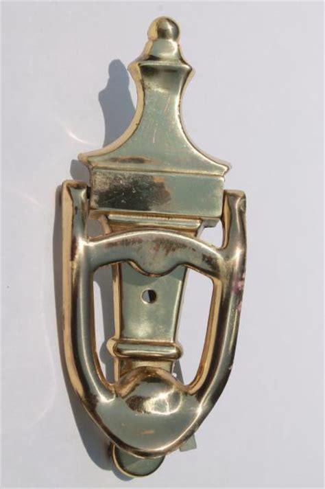 Bel Pintu Kuningan Brass Doorbell vintage brass door bell mid century authotone mechanical doorbell musical chime