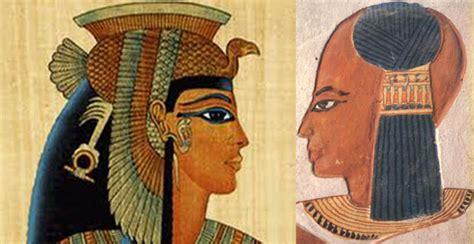 imagenes hombres egipcios pelucas se rapaban la cabeza tanto hombres como mujeres y