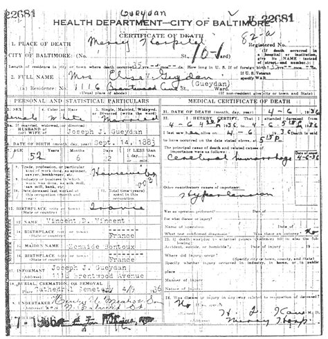 Baltimore City Marriage License Records Welcome To The Houk Family Tree Gueydan Vincent Page