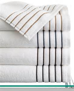 bath towels hotel collection closeout hotel collection borderline bath towel