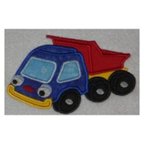 Mini Dump Truck Machine Embroidery by 1000 Images About Embroidery Applique Boys On