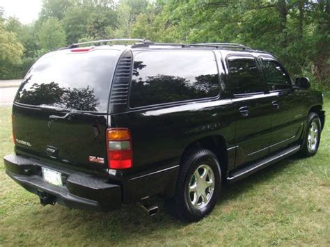 automobile air conditioning service 2003 gmc yukon xl 1500 security system purchase used 2003 gmc yukon denali xl black chrome leather air ride tv s dvd loaded mint in