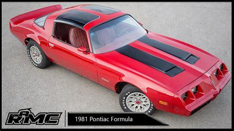 repair voice data communications 1985 pontiac firebird electronic valve timing 1981 pontiac firebird formula for sale youtube