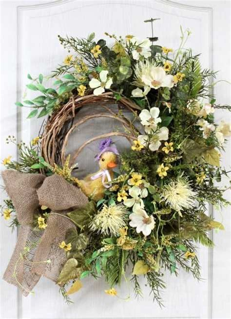 Home Decor Wreaths | 30 colorful wreaths adding creative designs to spring home