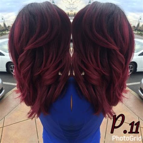 age appropriate for ombre red ombre hair color 36 new stunning ideas