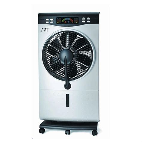 air conditioner fans walmart sunpentown 174 12 quot indoor misting fan with humidifier