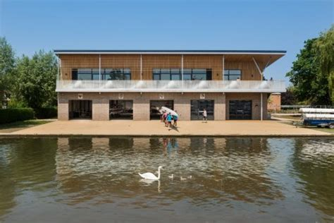 boat house cambridge combined colleges boathouse in cambridge architecture and design