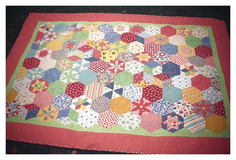 Quilting With Hexagons by Hexagons Sue S World