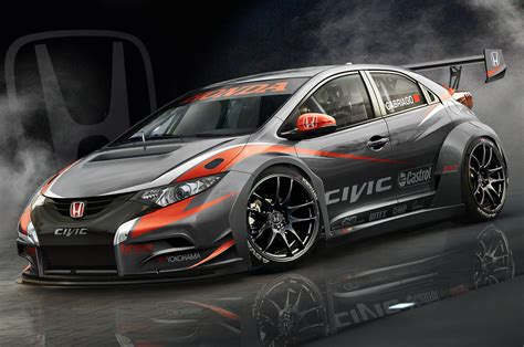 hatchback race cars 2014 honda civic hatchback euro wtcc race car photo 9