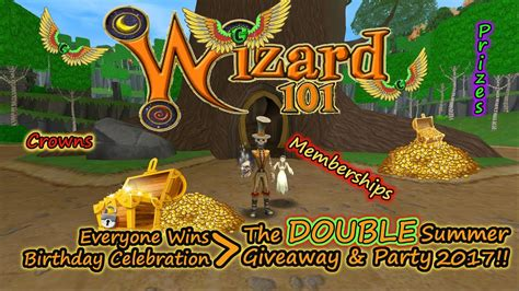 Free Turkey Giveaway 2017 - wizard101 2017 double giveaway free party crowns pri doovi