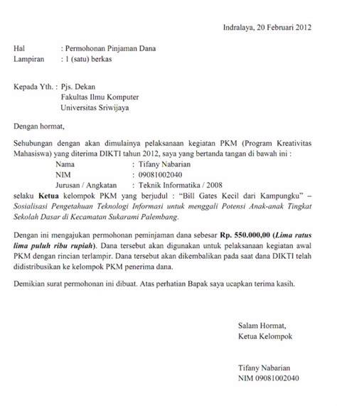Surat Permintaan Barang Ditujukan Ke Direktur Rsu contoh surat permohonan yang baik dan cara membuatnya