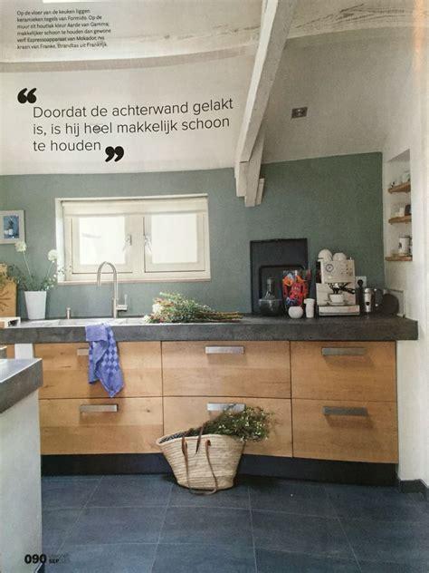 keuken kleur stoere keuken mooie kleur achterwand keuken pinterest