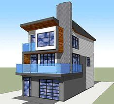 3 floor contemporary narrow home design a taste in heaven 1000 images about beach house plans on pinterest beach