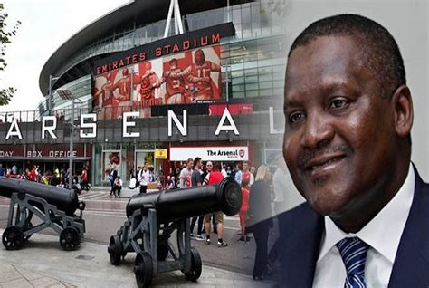 aliko dangote wants to buy arsenal meet the second most powerful black in the world after aliko dangote pledges to buy arsenal and wenger cheapgoals