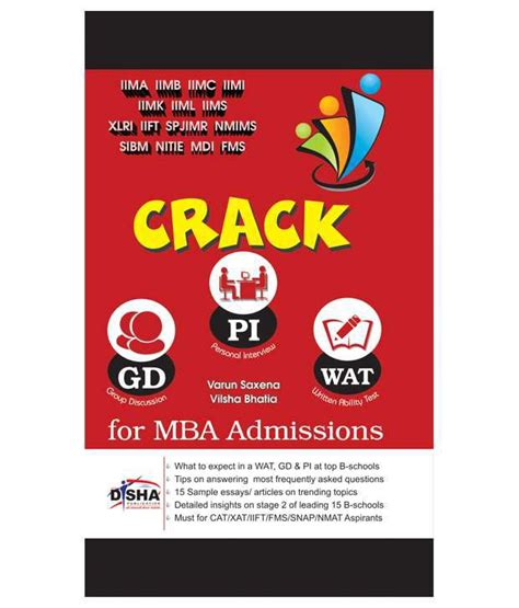Fms Mba Admission by Wat Gd Pi For Mba Admissions Must For Cat Xat