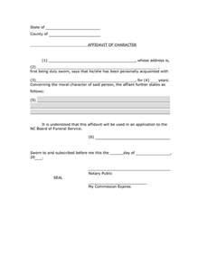 commercial affidavit of template character affidavit sle pdf by smo71832 affidavit