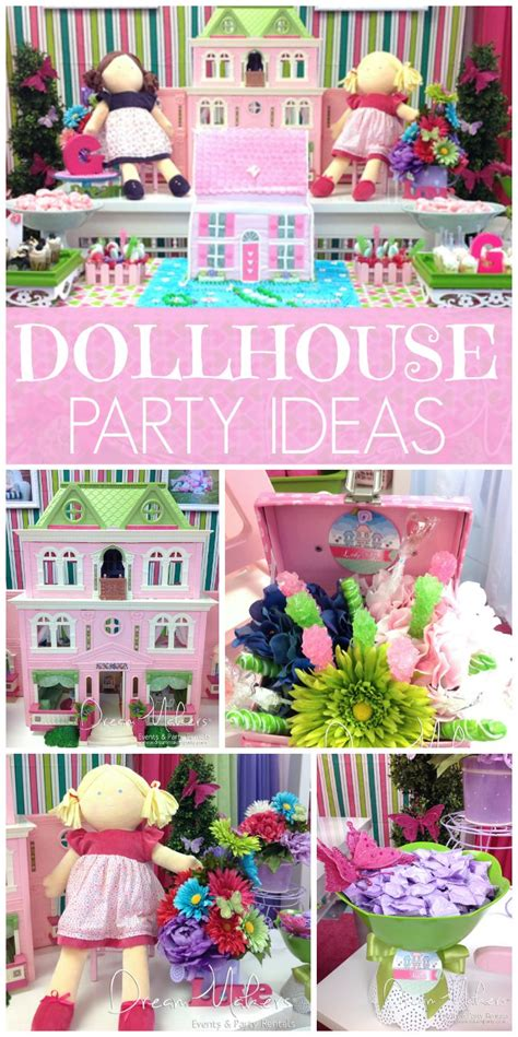 doll house party 1000 ideas about girls birthday parties on pinterest baking party girl birthday