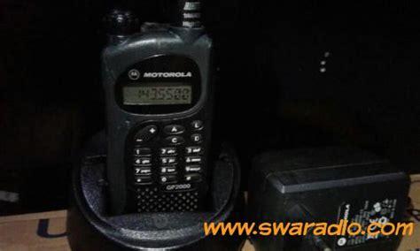 Antena Ht Motorola Gp 3188 Gp 2000 Tersedia Uhf dijual ht motorola gp 2000 frekuensi vhf baterai mayan awet swaradio