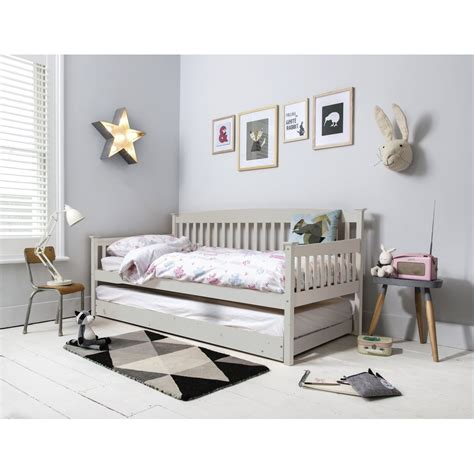 single day bed isabella day bed in silk grey noa nani