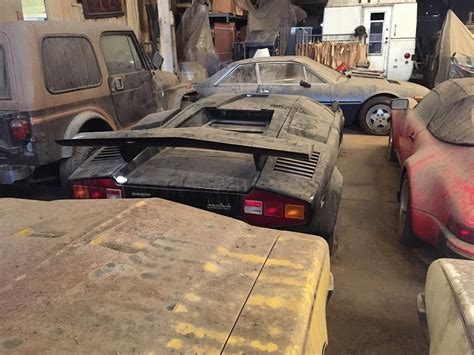 Barn Find by Barn Find Countachs 911 Speedster With 41