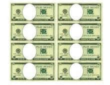custom money template create your own printable play money put your own child s