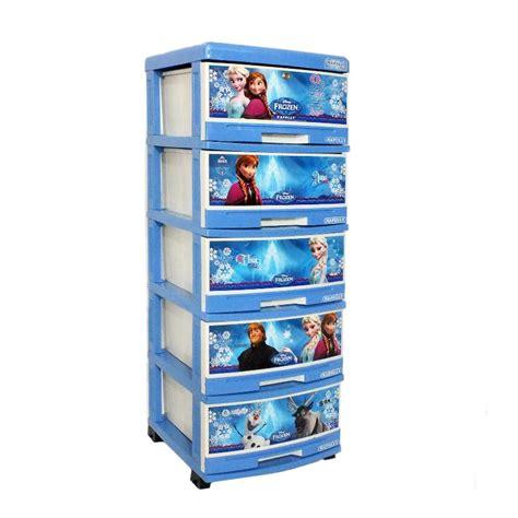jual creova plastik frozen lemari 5 susun harga