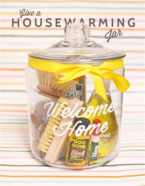 apartment warming gift housewarming jar diy oh happy day
