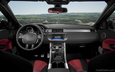 land rover convertible interior land rover evoque convertible car pictures images