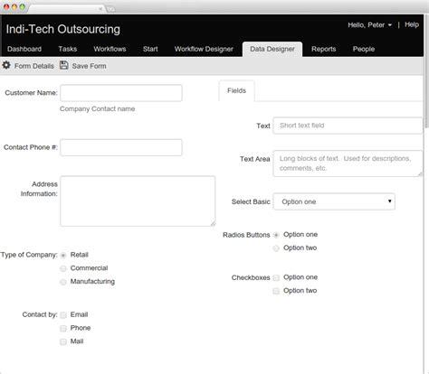 workflow forms data forms designer flowmingo