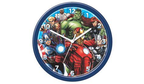 marvel heroes bedroom accessories marvel avenger clock bedroom accessories george at asda