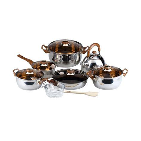 Pot Anggrek Dari Kayu 1 Set jual oxone eco cookware ox 933 set alat masak