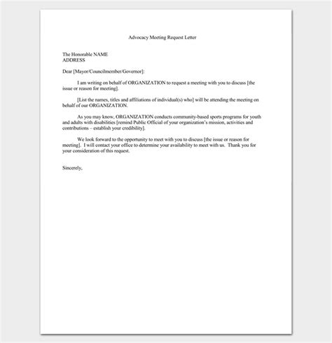 appointment letter format advocate meeting appointment letter 9 templates for word pdf format