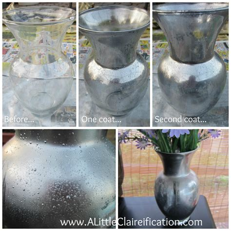 how to make glass how to make mercury glass living well spending less 174