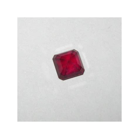 Promo Batu Permata Ruby Cutting Africa 20 2 Carat promo ruby blood madagaskar square cut 2 64 cts