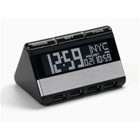 oregon scientific ras200 usb hub and world travel clock with 3 alarm setting supplies alarm