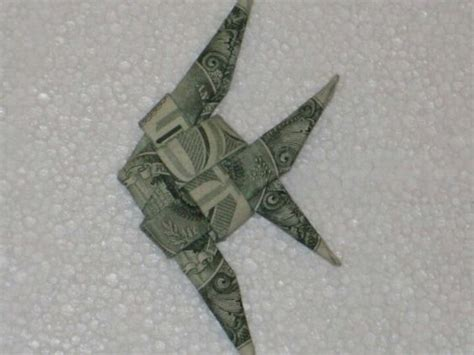 Fish Money Origami - dollar origami origami and fish on