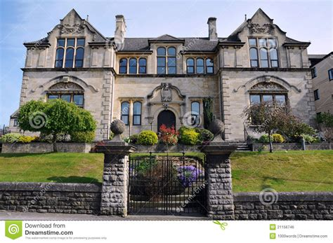 Victorian Mansion House Plans traditional english mansion royalty free stock image