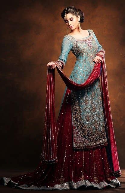 tilla work  bridal dresses  pakistan baraat