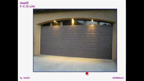garage door lights garage door lighting lighting ideas
