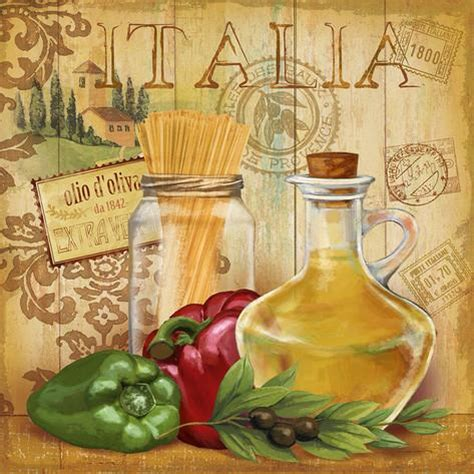 italian kitchen ii poster by conrad knutsen at allposters