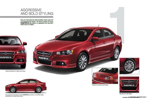 mitsubishi proton new proton inspira the malaysian lancer officially launched