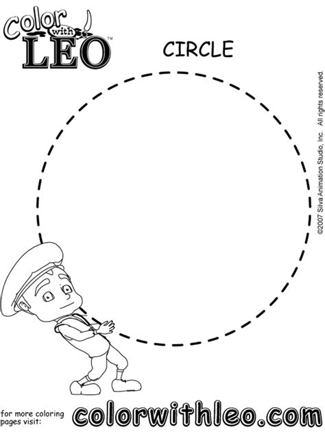 circle coloring pages preschool circle shape worksheets for kindergarten shape tracing