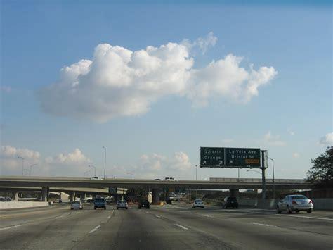 Garden Grove Freeway California Aaroads Southbound Interstate 5 In Orange